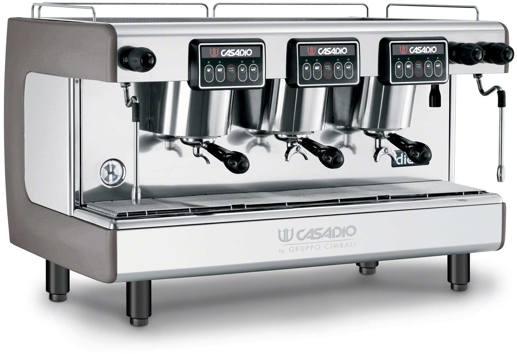 Casadio Dieci A3 3 Group Espresso Machine Coffee Shop Supply